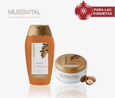 ¡Luce melena estas fiestas! Regálate y regala el pack de Queratina y Aceite de Argán de Mussvital. $6.6€