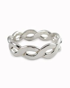 Sterling Silver Fitted Toe RingPebble Beach Stack