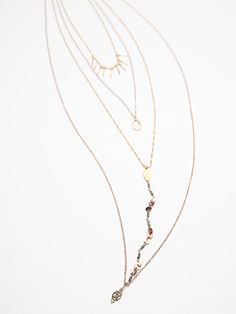 Free People Exaggerated Waterfalls Necklace at Free People Clothing Boutique