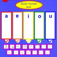 Vowel Sort - Sort short and long vowel words using the vowel sort pages, with easy self-check for independent practice. There are also three pages included for both long and short vowels to practice spelling words. These pages also include and self-check feature for independent practice.  Resource type: SMART Notebook lesson  Subject: English Language Arts,  English as a Second Language  Grade: Pre-Kindergarten,  Kindergarten,  Grade 1,  Grade 2