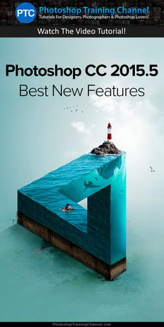 Video tutorial showing you the best new features in Adobe Photoshop CC 2015.5.