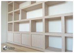 Półki na książki / biblioteczka do gabinetu - Cellaio