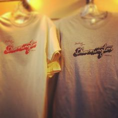 "@visitbtown's photo: ""New Bloomington t-shirts in at the Visitors Center. Only $12.99!"""