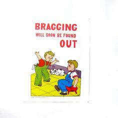 Vintage School Poster Print Good Manners Children by ismoyo