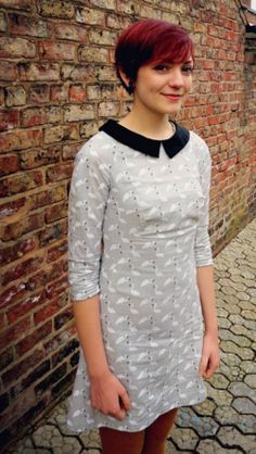 Annis's Francoise dress - sewing pattern by Tilly and the Buttons