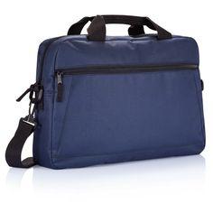 Durban document bag. 600D, 1 main compartment on top, 1 front pocket, 2 handles  and adjustable shoulder strap. Registered design®.