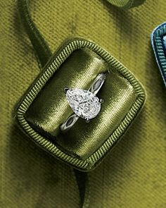 Pear-shaped #engagement #ring