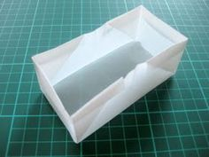 Diy origami baking pans gift of food. Cakes, breads