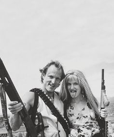 Woody Harrelson and Juliette Lewis in Natural Born Killers (1994)