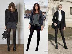 Shorts e meia-calça: como acertar no look - Moda it