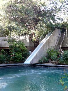 le corbusier / villa de madame manorama sarabhai, ahmedabad