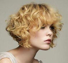 Corte chanel para cabelos cacheados