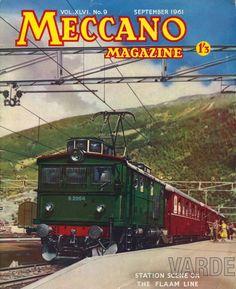 Flåmsbana, The Flaam Line, Meccano Magazine, Aurland, Lokalhistorie