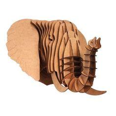 """Trophée """"Eyan l'Éléphant"""" en carton recyclé"""