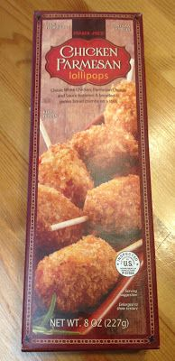 Read our review of Trader Joe's Chicken Parmesan Lollipops.