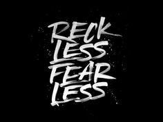 RecklessFearless by Laura Dillema