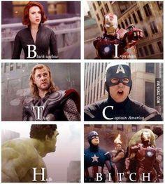 Bitch Avengers
