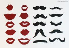 губы+ усы