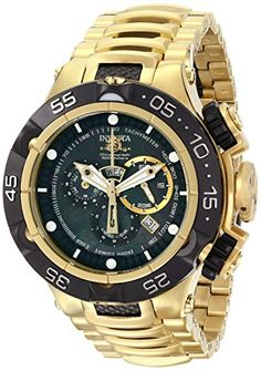 Invicta Men's 15921 Subaqua Analog Display Swiss Quartz Two Tone Watch * You can get additional details at the image link.