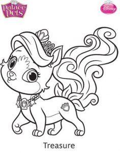 Las 10 Mejores Imágenes De Palace Pets Colorear Disney