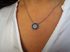 Evil eye necklace - evil eye jewelry - birthday gift - womens gift - gift for girlfriend - wife gift - kaballah jewelry - coworker gift -mom by ebrukjewelry on Etsy Evil Eye Jewelry, Evil Eye Necklace, Gifts For Coworkers, Gifts For Wife, England Fashion, Birthday Gifts, Etsy Shop, Trending Outfits, Diamond