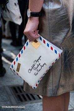 Модная сумка-конверт осень 2016