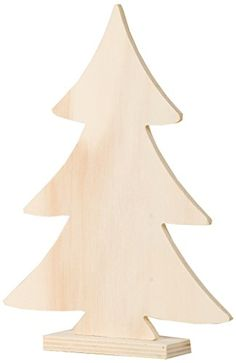 Artemio 14001057 Wooden Christmas Tree On Foot-20Cm >>> Learn more @…