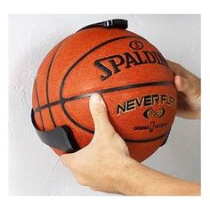 Always tripping over the basketball in the my room! >>> Ball Claw for Basketball Sports Ball Holder Basketball Room, Basketball Tricks, Basketball Stuff, Basketball Design, Basketball Quotes, Basketball Court, Sports Equipment Storage, Soccer Ball, Storage Solutions