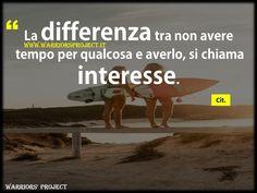 www.warriorsproject.it #Buongiorno #citazioni #aforisma #frasi #coaching #parole #frasi #aforismi #citazioni #famose #belle #massime #pensieri #tempo #filosofia #pensiero #positivo #Motivazione #volontà #serenità