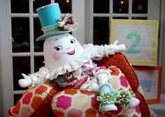 Humpty dumpty baby shower | Photo: A super creative Humpty Dumpty baby shower. Handmade too. It's ...