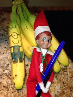 elf on the shelf ideas for younger kids - Google Search