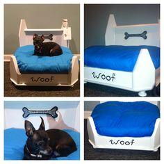 DIY dog bed from Sweet Treasures Resale