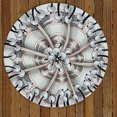 Duotangle with pokeroot and drupe! #iamthedivacztzentanglechallenge…
