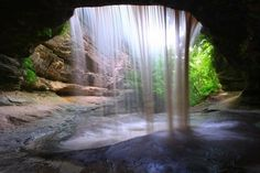 Wow. I want to go here, so gorgeous! - starved park state park , illinois