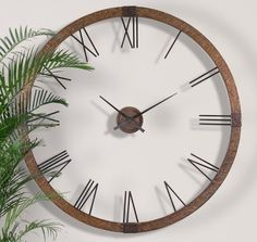 Extra Large Copper Open Wall Clock Designer Openwork XL *** Continue to the product at the image link. Metal Walls, Metal Wall Art, Big Wall Clocks, Clock Wall, Oversized Clocks, Unique Ceiling Fans, Wall Watch, Tabletop Clocks, How To Make Wall Clock