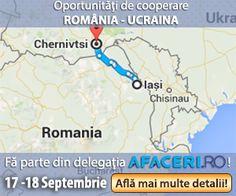 Brand&Build | Susținem Afaceri.ro - Platformă pentru promovarea exportului în Ucraina - Brand&Build Map, Blog, Location Map, Blogging, Maps