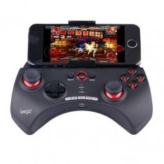 Ipega Mobile Wireless Gaming Controller Bluetooth 3.0 for Apple and Tablet PC with Multimedia Keys - PG-9025 - Black - Gudang Gadget Murah Apple & Android Mobile Wireless Gaming Controller termurah hanya di Gudang Gadget Murah. Ipega PG-9017 is a new design wireless bluetooth controller with multimedia keys and support different Android / iOS / PC and etc games - Black