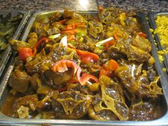 haitian oxtail More Haitian Food Recipes, Cuban Recipes, Jamaican Recipes, Beef Recipes, Dinner Recipes, Cooking Recipes, Trinidad Recipes, Recipies, Chicken