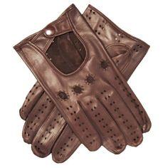 Men's Italian Lambskin Leather Driving Gloves