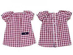 Kinderkleidung Gr. 86 aus Männerhemd nähen inkl. Schnittmuster free