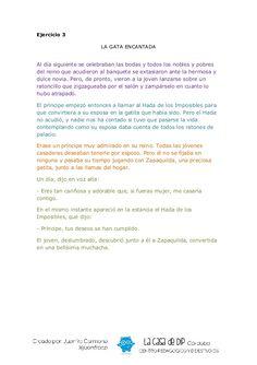 Cuentos desordenados Spanish Language, Conte, Comprehension, Fails, Writing, Reading, Dragon, Kids Psychology, Children's Literature