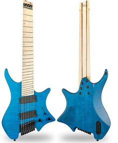 Stransberg OS8 8 string headless guitar