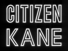 citizen kane...probably the most influential film ever made, from its acting to directing to editing to cinematography