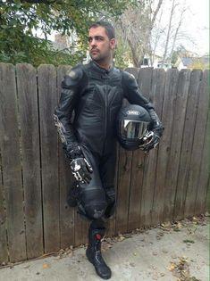 Motorcycle Wear, Bike Leathers, Biker Gear, Biker Style, Sport Bikes, Bikers, Tights, Fashion, Leather