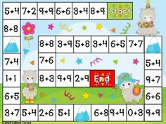 Math Board Games For Kids Addition Facts 44 Trendy Ideas Algebra Games, Math Board Games, Math Games For Kids, Math Boards, Board Games For Kids, Math Activities, Dice Games, Therapy Activities, Addition Games