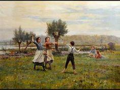 CESAR PATTEIN (1850-1931)  French painter ~ Ernesto Cortazar music