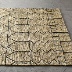 Istana Patterned Jute Rug |