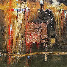 """Levitation by LeslieAnn Butler (Acrylic Painting) (18"""" x 18"""")"""