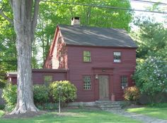 Historic Buildings of Connecticut  » Blog n Archive   » The Eustis Brush House (1760)