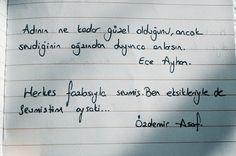 Ece Ayhan Sevgi